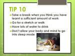 tip 10