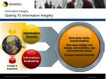 information integrity getting to information integrity