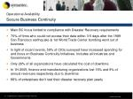 operational availability secure business continuity