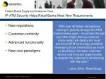 protect brand equity and customer trust ip atm security helps retail banks meet new requirements