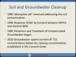 soil and groundwater cleanup