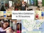mini exhibit slide