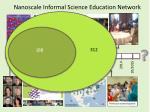 nanoscale informal science education network19