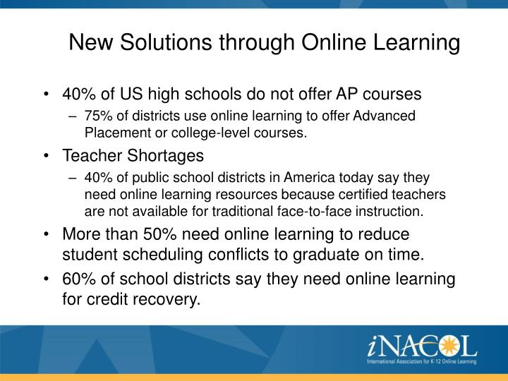 New Solutions through Online Learning
