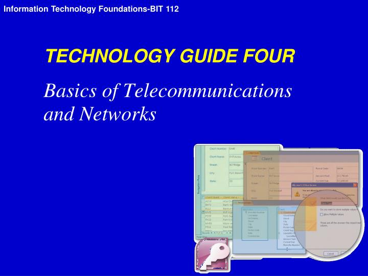 technology guide four n.