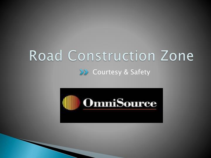 road construction zone n.