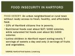 food insecurity in hartford