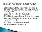 mexican hat motor coach crash