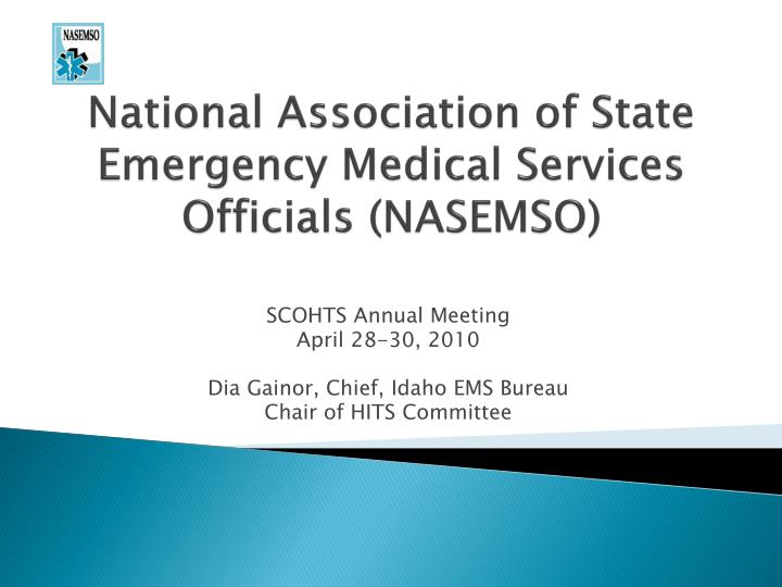 national association of state emergency medical services officials nasemso n.