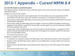 2013 1 appendix current nrpm 8 4