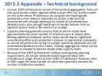 2013 2 appendix technical background