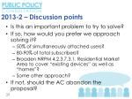2013 2 discussion points