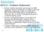 2013 2 problem statement