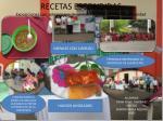 recetas escondidas e xposiciones con aplicaciones de platillo de productos de la comunidad