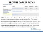 browse career paths