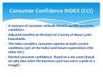 consumer confidence index cci