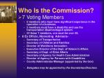 who is the commission