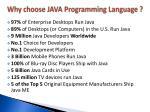 why choose java programming language1