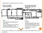 models simplification
