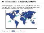 an international industrial platform