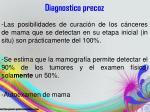 diagnostico precoz