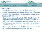 data sharing wg draft terms of reference1