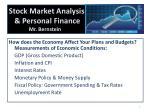 stock market analysis personal finance mr bernstein5