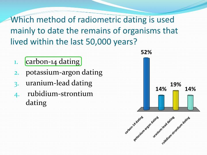 carbon dating past 50000 years Carbon-14 then moves up the various food chains to enter animal tissue—again, in about the same ratio carbon-14 has with carbon-12 in the atmosphere when a living thing dies, its radiocarbon loss (decay) is no longer balanced by intake, so its radiocarbon steadily decreases with a half-life of 5,730 years.