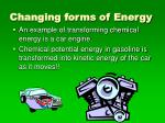 changing forms of energy1