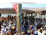 lutheran hour speaker greg seltz leading devotions