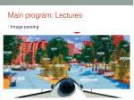 main program lectures7