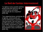 la red de caritas internacional