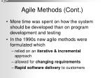 agile methods cont1