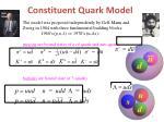constituent quark model