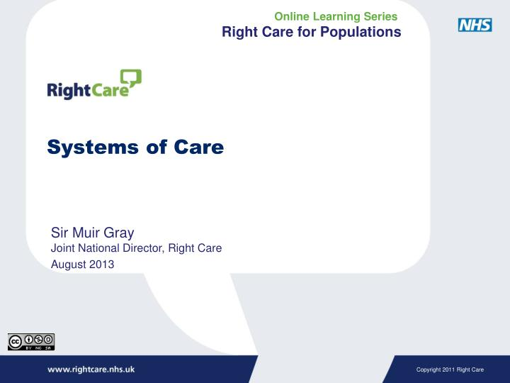 systems of care n.