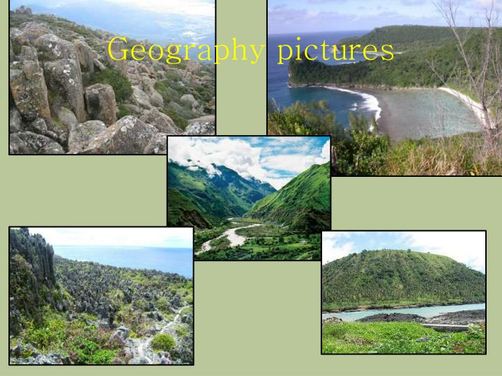 Geography pictures