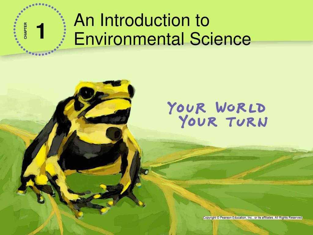 an introduction to environmental science n.