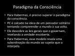 paradigma da consci ncia
