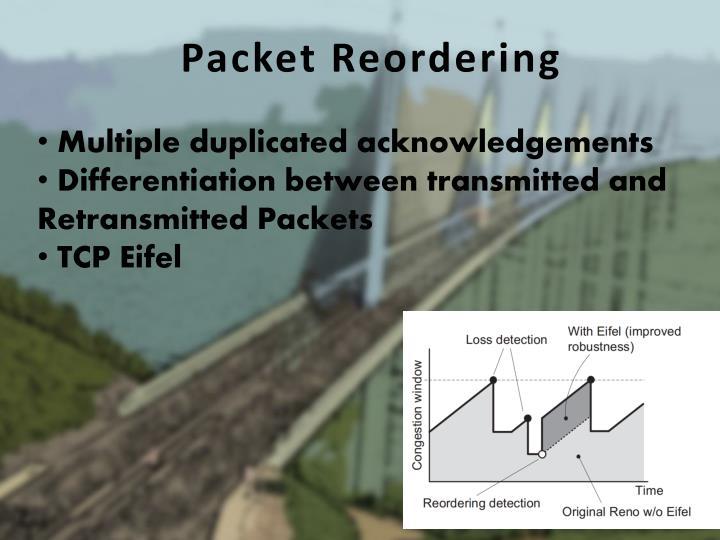 Packet Reordering