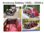 armstrong siddeley 1935 55000 e