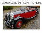 bentley derby 3 1 1937 124000 e
