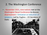 2 the washington conference