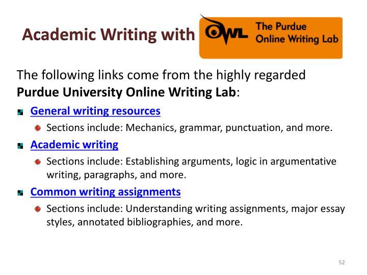 Academic Writing with