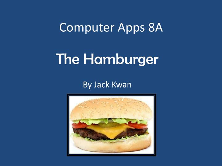 computer apps 8a n.