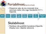 portabilnost openscenegraph