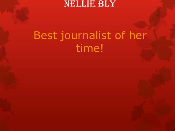 nellie bly n.