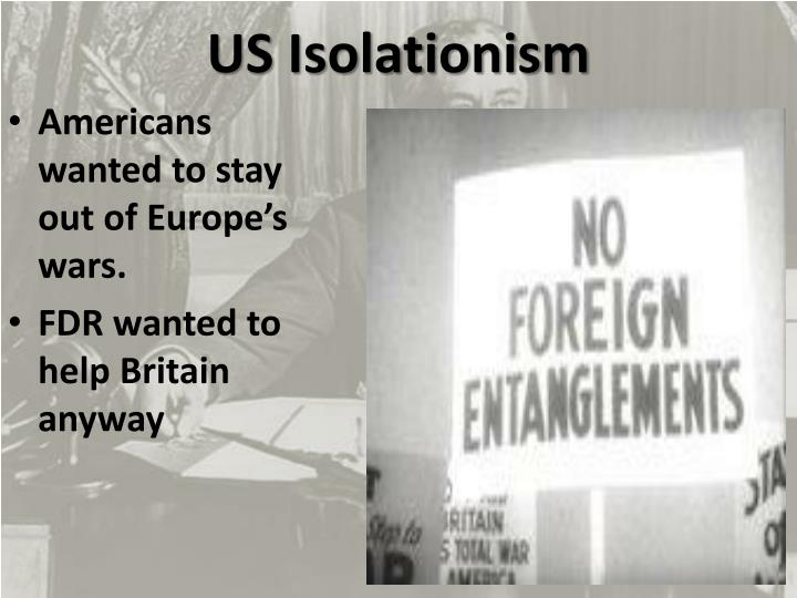 Us isolationism