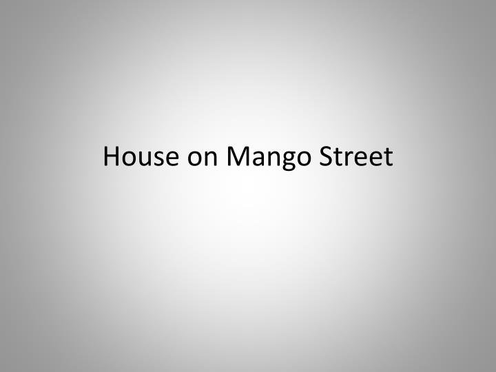 house on mango street n.