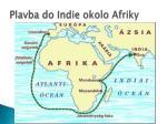 plavba do indie okolo afriky