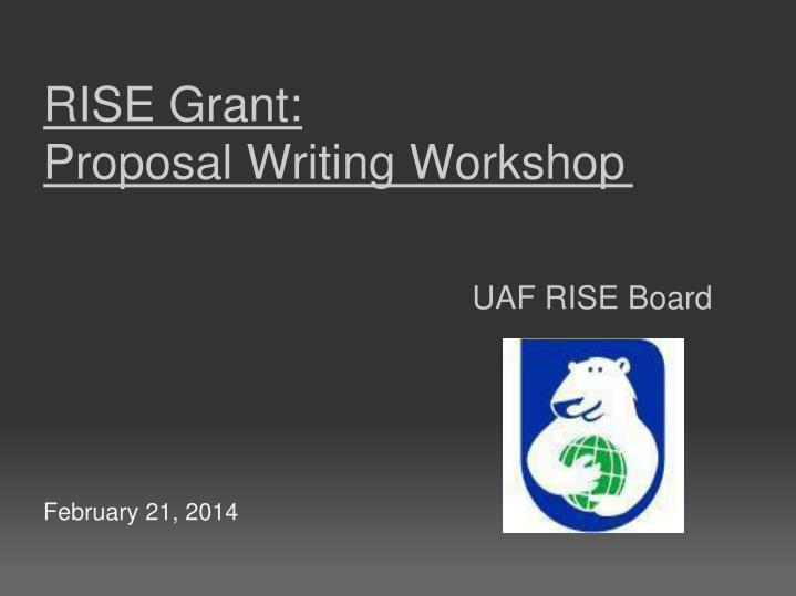 grant proposal writing workshop Unlock your funding potential with this workshop delivered by brodie guy and dean mckinley for northern development initiative trust discover the seven.